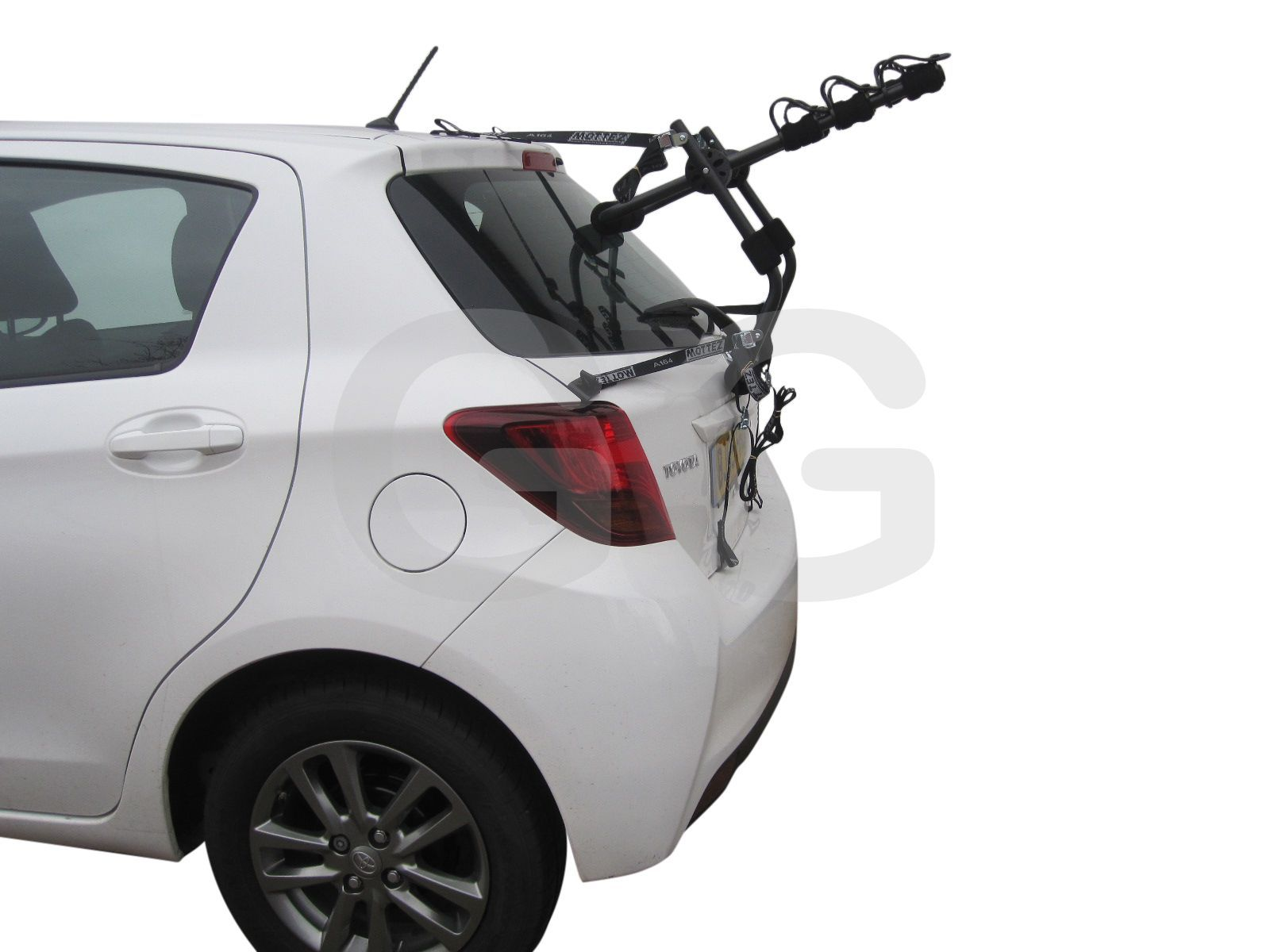 Car 3 Bike Cycle Carrier Rack Rear Door Boot Mounted